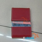 CARD CASE HOLDER PU+Stainless steel
