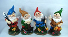 Cute Four Dwarf Dolls Polyresin Crafts Hot Sale Fashion Promotional Gifts Toys For Household Adornment Articles