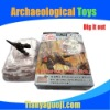 Wonderful archaeology excavation dinosaur toy