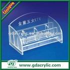 Acrylic table card holder for KTV