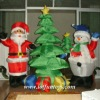 Inflatable Decoration Christmas Tree, Snowman, Xmas Santa Claus