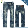 Good quality man jeans trousers brand 100% cotton 589#