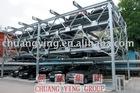 Elevating-sliding car parking equipment