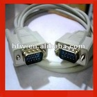 9 Pin Male to 15 Pin VGA Extension Cable