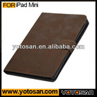 Popular Belt Clip Leather Case Cover For iPad Mini