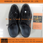 Men Black Patent Leather Shoes