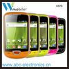 pink mobile phone android system wifi 3.2 inch touch screen