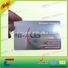 attractive steel business card