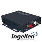 Mini 1 Channel Video with Return Data Fiber Optical Multiplexer EthernetSM/Simplex/FC/20Km/220V