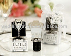 Bride and Groom wine Stoper