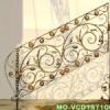 wrought iron stairs handrail