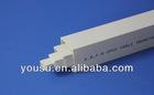 25X16mm diametre Thickness 0.68mm pvc conduit trunking