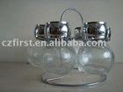glass spice jar LG006