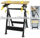 height adjustable machinery work bench