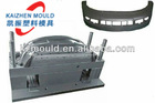 High precison car bumper plastic injection mould