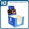 Retail customized paper display box
