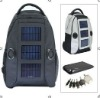 solar panel sound backpack
