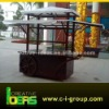 Outdoor Wooden Food Cart Kiosk