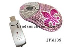 Noverly driver usb optical mouse with blink jewelry