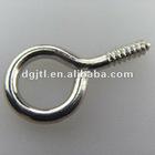 high quality stainless steel screw eye hook