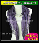Fashion jewelry alpaca scarf for women