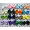 4.5inch ribbon bows/hair bows/grosgrain ribbon bow/chunky bows