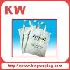 Handle logo printing pe plastic bag