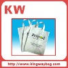 Handle logo printing pe plastic bag