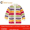 Stripe Cardigan Sweater For Girl