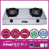 Low pressure table top gas cookers with one two & three burners