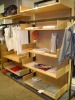 sell shop wooden display rack furniture