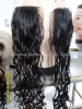 "HOT SALE - 8"" - 3.5*4"" - NATURAL STRAIGHT - VIRGIN COLOR - LACE CLOSURES - ALL HAND-TIED"