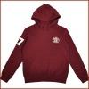 100% cotton fleece long sleeve printing children's hoodies