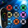 wireless touch rgb led remote control christmas lights