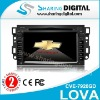 Sharing Digital Rational Construction Chevrolet Lova Car LCD Monitor with RCA Input