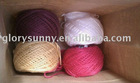 Recycled Colorful 100%Cotton Yarn (8s~20s)for Gloves