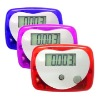 Pedometer display step,distance,calorie