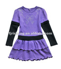 New design Girl's birthday party dress for kids