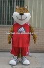 sports tiger mascot costume