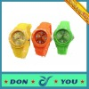 Colorful Silicon Watch in 2012 Fashion