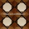 wood marble inlay flooring parquet flooring LIREN-M010