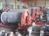 High capacity ball mill for grinding silica sand
