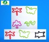 2012 new fashion nice design silicone rubber linear animal graphic