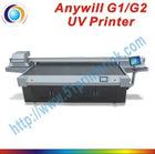 High resolution UV led flatbed printer
