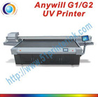 High resolution UV led flatbed printer