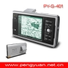 GPS PY-401 4 inch TFT touch screen,support different country's map