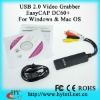 USB Video Grabber EasyCAP DC60+ For Windows & Mac OS