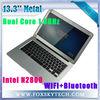 13.3'' laptop Intel Atom N2800 Dual Core 2GB RAM 64GB SSD windows7