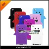 Smile Angle Demon Ghost silicone soft cover skin case for ipod touch 4