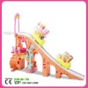 plastic slide toy,castle toys, ferris wheel with horse for kids